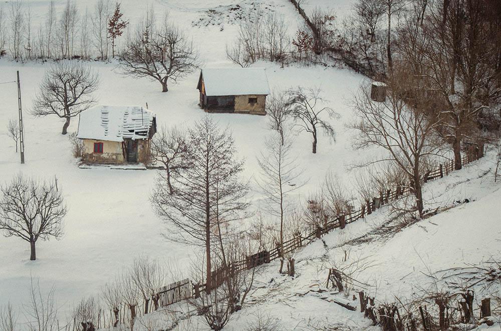 028.3. Budeanu Alexandru. Tablou de iarnă (jud. Brasov)