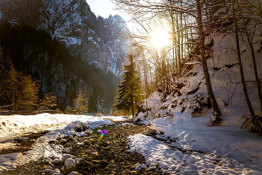 085.2. Dobroiu Ecaterina Andreea. Good Morning Sunshine (Cheia, jud Valcea, Pacul National Buila-Vanturarita)