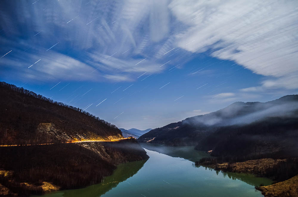 106.3. Craioveanu Iulian Raul. Night (Lacul Siriu, Județul Buzău