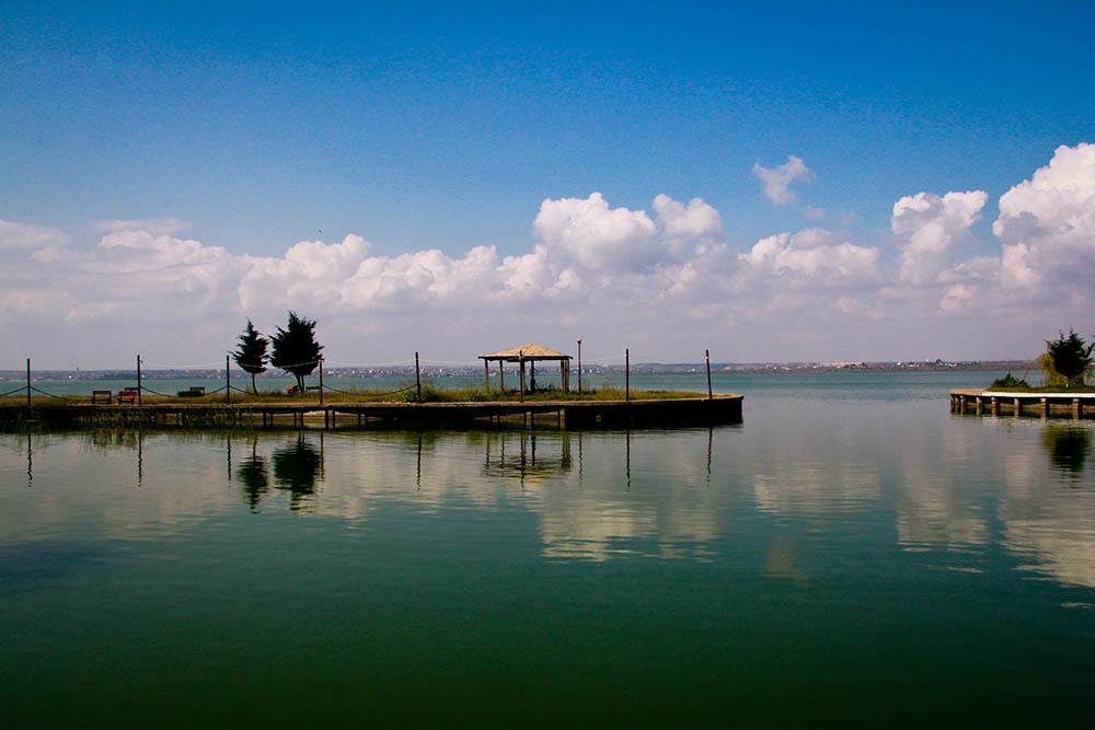 131.2. Iclanzan Raluca Luminita. Reflexii in lac (Lacul Siutghiol)