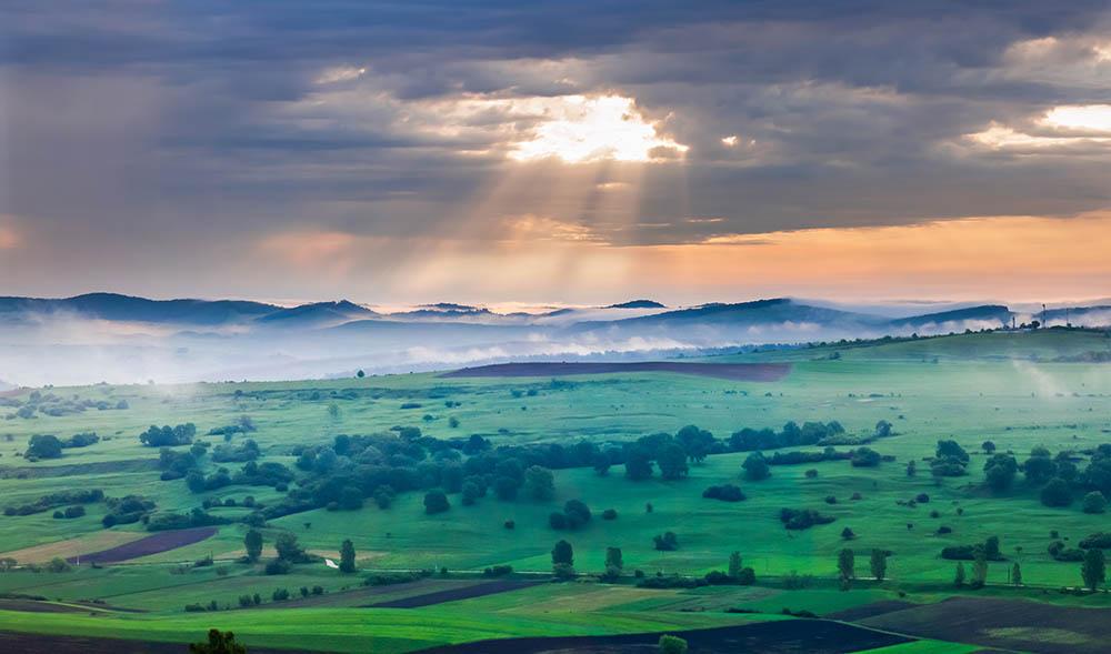 152.2. Lup Andrei Eugen. Dawn (Boian, Transilvania)