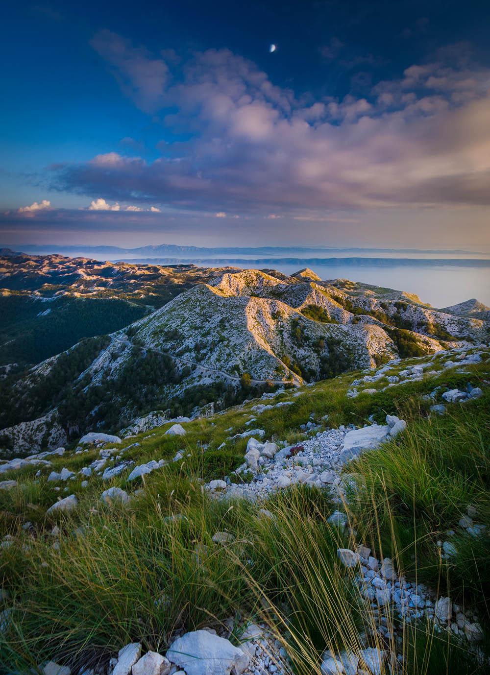 153.1. Mag Robert. Linistea de la munte (Biokovo National Park,  Croatia)
