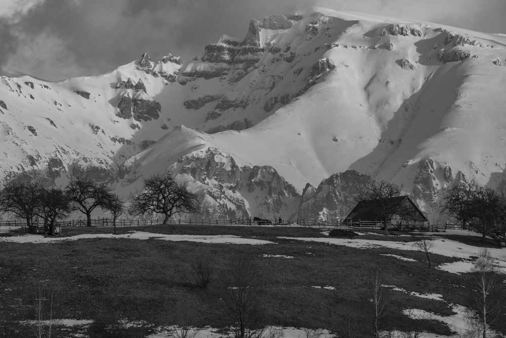 161.1.Palanga Bogdan Claudiu. Iarna la munte (Magura, Brasov)
