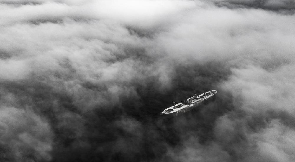 190.2. Alexandru George. Ghost Ship (Costinesti)