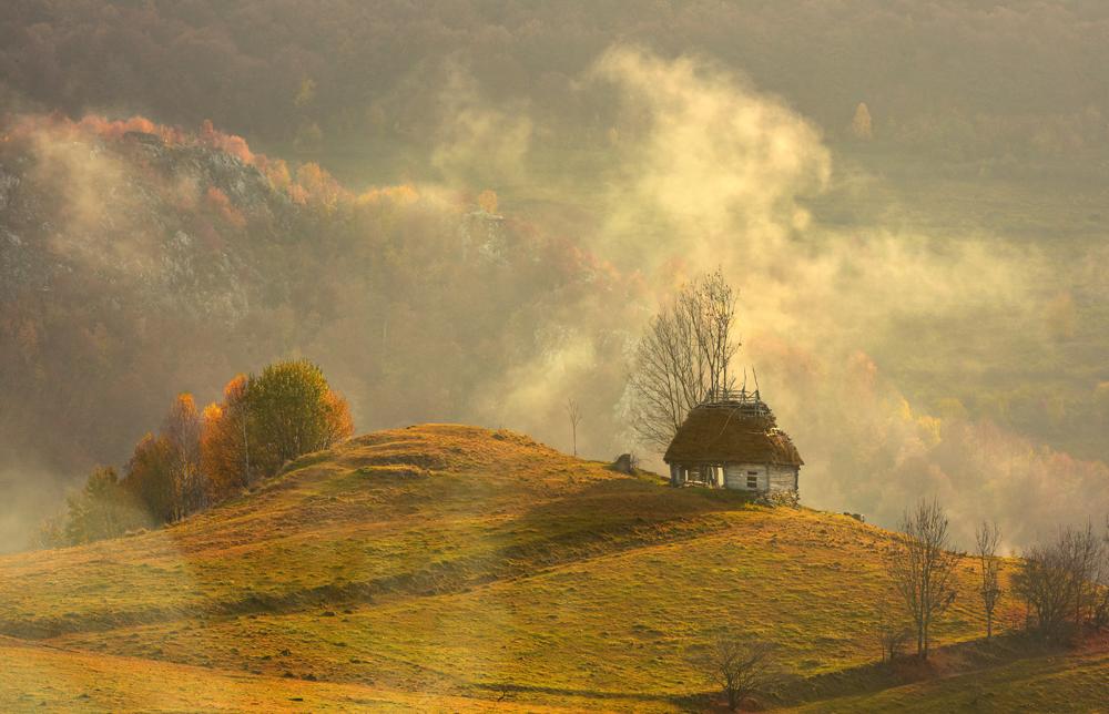 98.2. Marinescu Stefan. The mist (Romania, Apuseni)