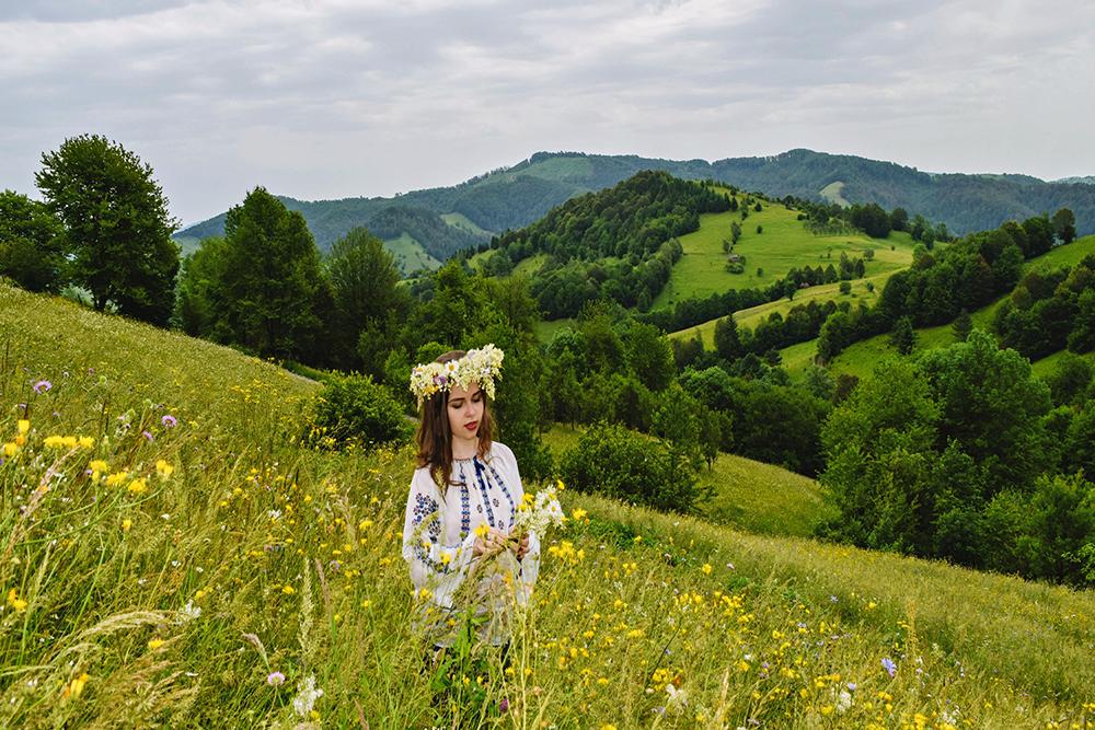 Vereș Alexandra Nicoleta. Sânziană de pe munte (Ciuruleasa, jud. Alba)
