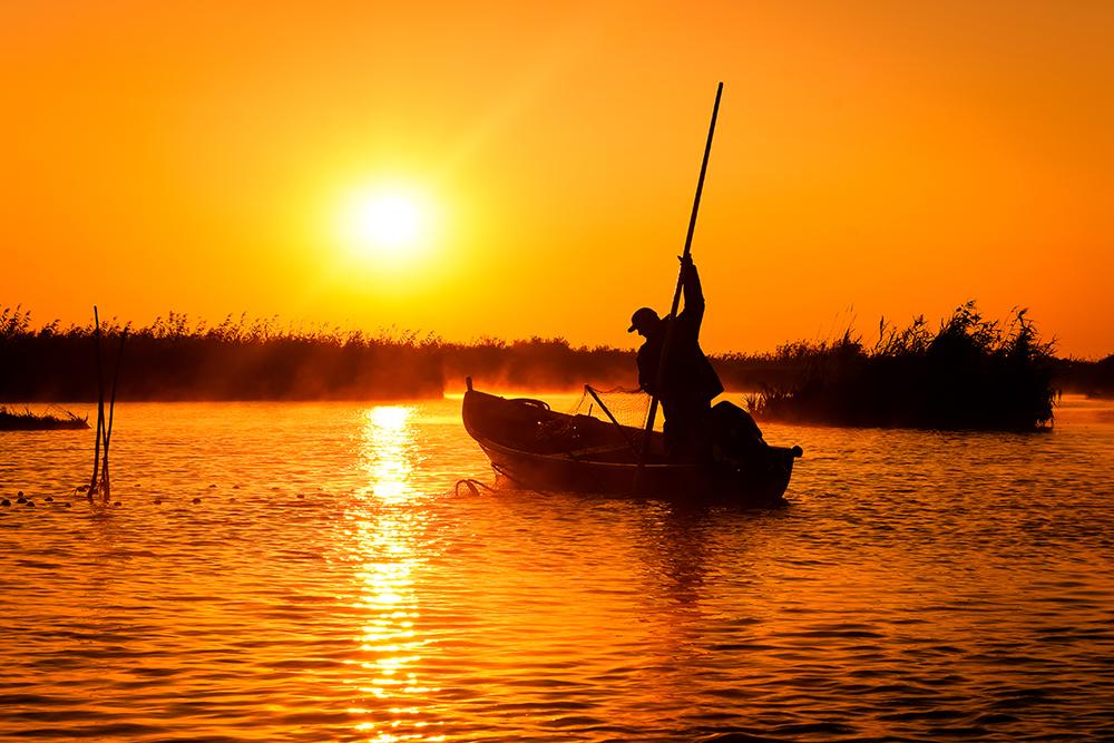 Burcea Marius. Pescarul (Caraorman, jud. Tulcea)