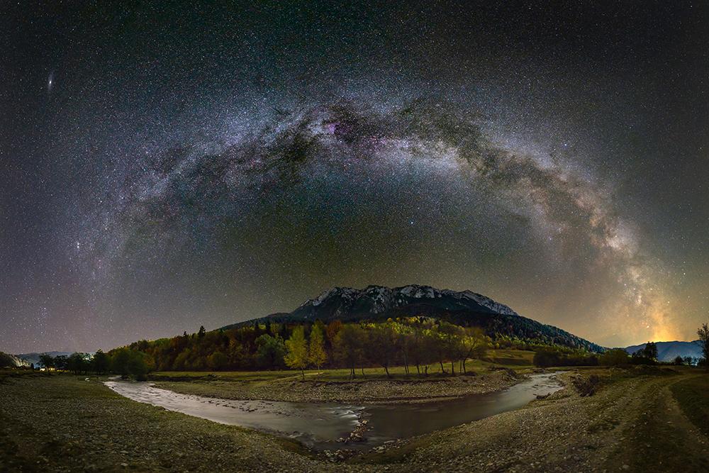 Constantin Răzvan Cornel. Summer sky (Dobrogea)